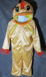 Toddlers BABYSTYLE GOLDFISH HALLOWEEN COSTUME 2 3T Baby Style Gold