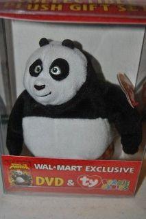 Wal Mart Exclusive Kung Fu Panda ty Beanie Babies PO