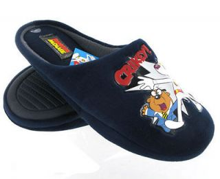 DANGER MOUSE NOVELTY MULE MENS SLIPPERS ,SHOES,BOOTS,C HRISTMAS