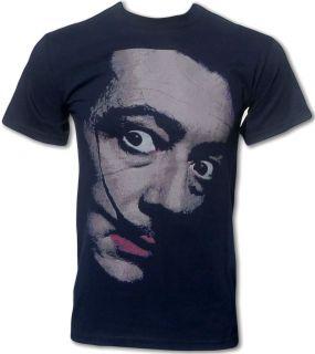 Salvador Dali T Shirt (Pop Art Design) Retro classic Tee (All Sizes)