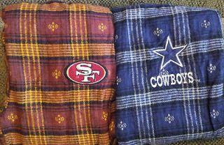 NFL Flannel Pants~San Franciso 49ers or Dallas Cowboys~ kids sizes S/M