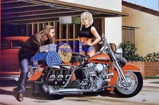 DAVID MANN CROSS COUNTRY EASYRIDERS MOTORCYCLE BIKER DAVE MANN BOOK