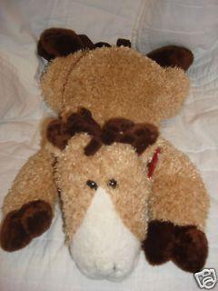 Newly listed DanDee Dan Dee plush floppy pony horse tan white brown