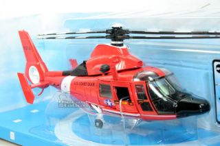 NEW RAY Helicopter US Coast Guard DAUPHIN HH 65C DIE CAST 1/48 # 25503