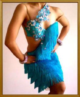 latin ballroom dance dresses fringe
