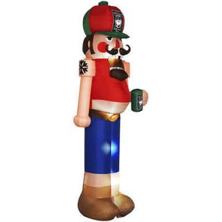 Inflatable Redneck Nutcracker Outdoor Christmas Yard Decor