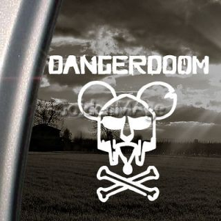 DANGER DOOM Decal MOUSE MASK MF HIP HOP Sticker
