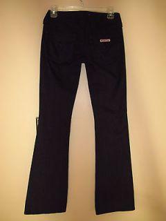 176 Hudson Plaid Tartan Flap Pocket British Flag Gray Off Back Jeans