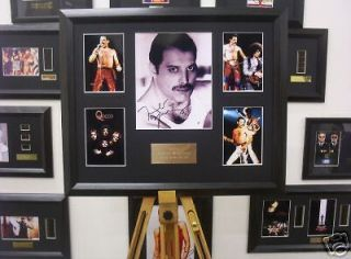 Newly listed QUEEN Freddie Mercury Framed Memorabilia Signed Autograph