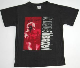 Vtg 1996 DANZIG Tour Shirt Misfits Metal Hardcore Horror Punk Samhain