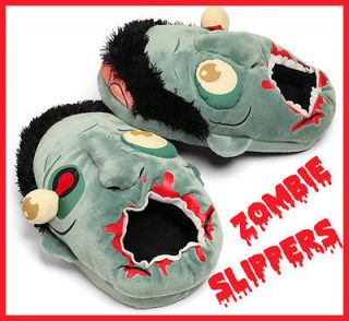 Zombie Plush Slippers New The Walking Dead Eye Ball Think Geek Toy