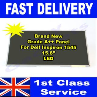 Dell Inspiron 1545 Laptop LED Screen Grade A+ 15.6 Replacement Panel