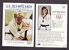 1992 U. S. OLYMPIC HOPEFULS KATE DONAHOO JUDO CARD #51