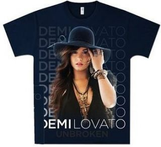 Demi Lovato Stacked With Hat Shirt SM, MD, LG, XL, XXL New