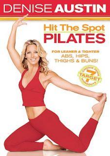 Denise Austin   Hit the Spot Pilates (DVD, 2005)