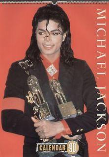 MICHAEL JACKSON CULTURE SHOCK 1990 CALENDAR rare
