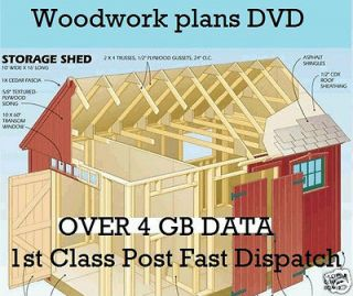 Newly listed Woodwork Plans DVD DIY Shed Log Cabin Summer Play House