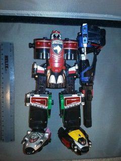 Power Rangers SPD Supreme Megazord near complete electronics work