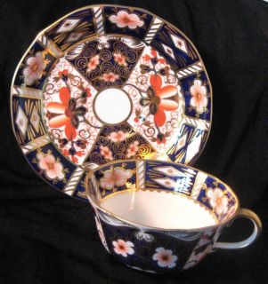 Royal Crown Derby Traditional Imari Cup & Saucer 2451