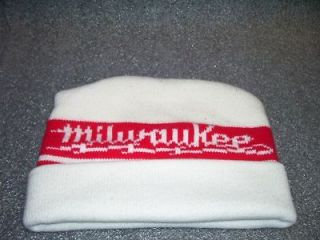 Vintage Milwaukee Tools Knit Ski Winter Hat/Cap