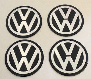 VW VOLKSWAGEN GOLF PASSAT RABBIT 56 MM WHEEL CENTER CAP EMBLEMS DECALS