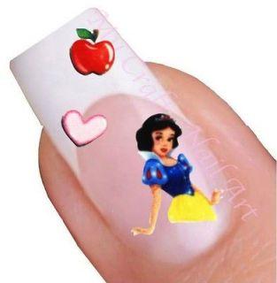 Snow White DIsney Princess Nail Stickers, Decals, Art 01.02.084