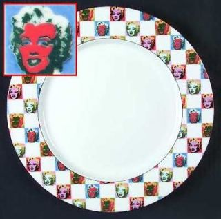 Vintage ANDY WARHOL Pop Art Salad Plate Campbells Soup Studio 54 New