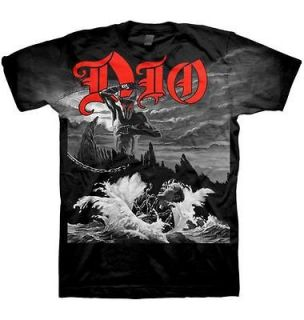 DIO cd cvr HOLY DIVER ALL OVER Official SHIRT XXL 2X New black sabbath