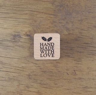 Decorative Stamps Rubber Stamp_Handmade with love