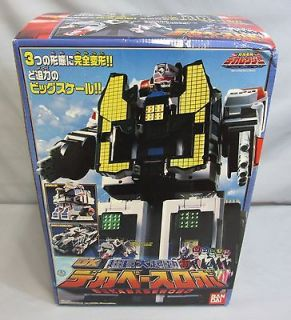 Power Rangers DX DEKABASEROBO SPD Delta Command Megazord *NEW