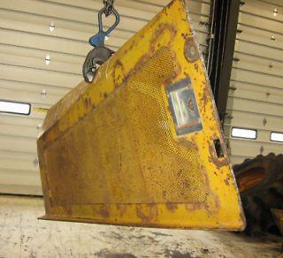 JOHN DEERE 640D SKIDDER ENGINE SIDE SCREEN AT76688