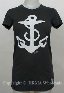 SAILOR JERRY Tattoo Homeward Bound Onyx Girl Juniors Tee T Shirt S M L