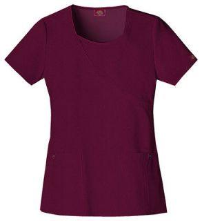 Dickies Xtreme Stretch Medical/Dental Uniform Scrubs Top Shirt PICK