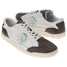 Diesel Mens Ice Cool White Shopping Bag Sneakers Shoes 8.5 9 10 10.5