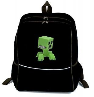 MINECRAFT BAG BACKPACK / SCHOOLBAG LARGE CAPACITY NEW