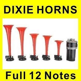 Newly lised DIXIE Musical Van Air Horn Dukes of Hazzard General Lee