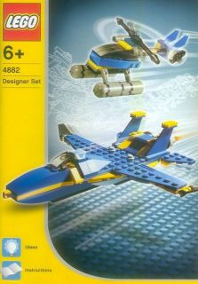 LEGO 4882 Designer Speed Wings Makes City Town Airplanes Helicopters
