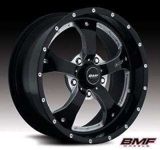 BMF NOVAKANE RIMS AND 33X12.50X22 TOYO OPEN COUNTRY MT WHEELS TIRES