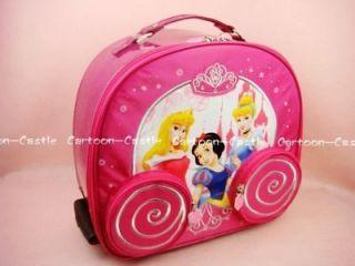 Disney Princess Luggage Bag Baggage Trolley Roller