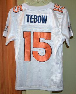 DENVER BRONCOS TIM TEBOW #15 NFL REEBOK FOOTBALL JERSEY YOUTH BOYS