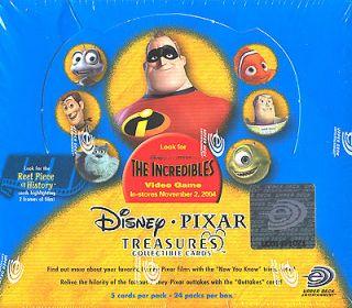 Disney Treasures Pixar Collectors Card Box