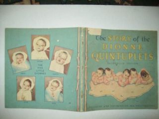 THE STORY OF THE DIONNE QUINTUPLETS EXCLUSIVE & COPYRIGHTED NEA