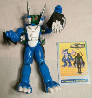 Digimon Digivolving Exveemon Stingmon Palidramon Transformer Figure