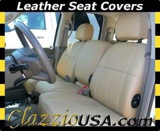 Dodge Ram 2500 Crew Cab Quad Cab Custom Clazzio Leather Seat Covers
