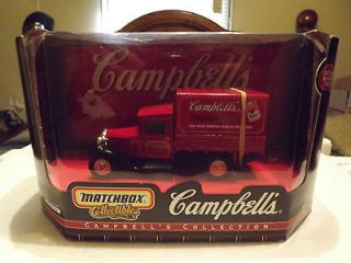 1932 Ford Model AA Campbell Soup Truck Matchbox) 1999