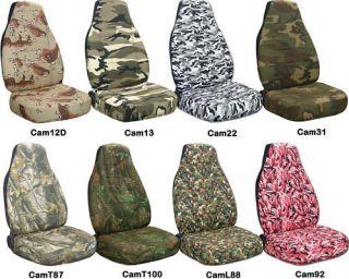 dodge dakota 60/40 front set camouflage car seat covers CHOOSE COLOR