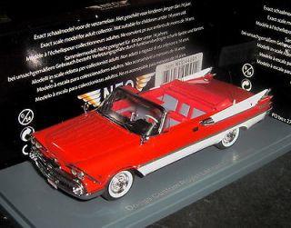 43 NEO Resin Model Dodge Custom Royal Lancer Convertible Red White