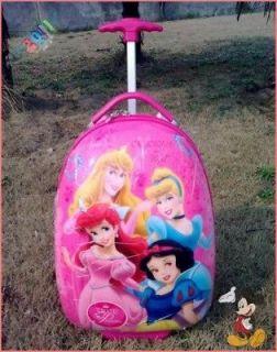 Disney Princess Luggage Bag Baggage Trolley Roller 2614