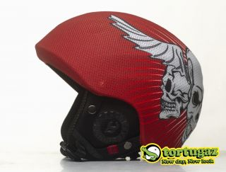 New Tortugaz Snowboard / Ski Fashion Helmet Cover Winged Skull Style