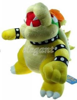 Nintendo Super Mario Brothers Party Bowser 10 Stuffed Toy Plush Doll